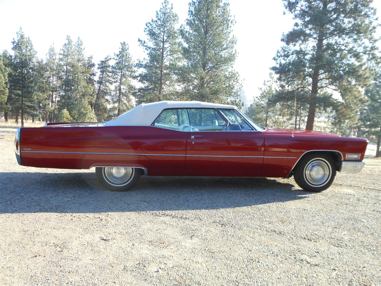 Large Picture of 1968 Cadillac Coupe DeVille located in Hamilton Montana Offered by a Private Seller - ME0X