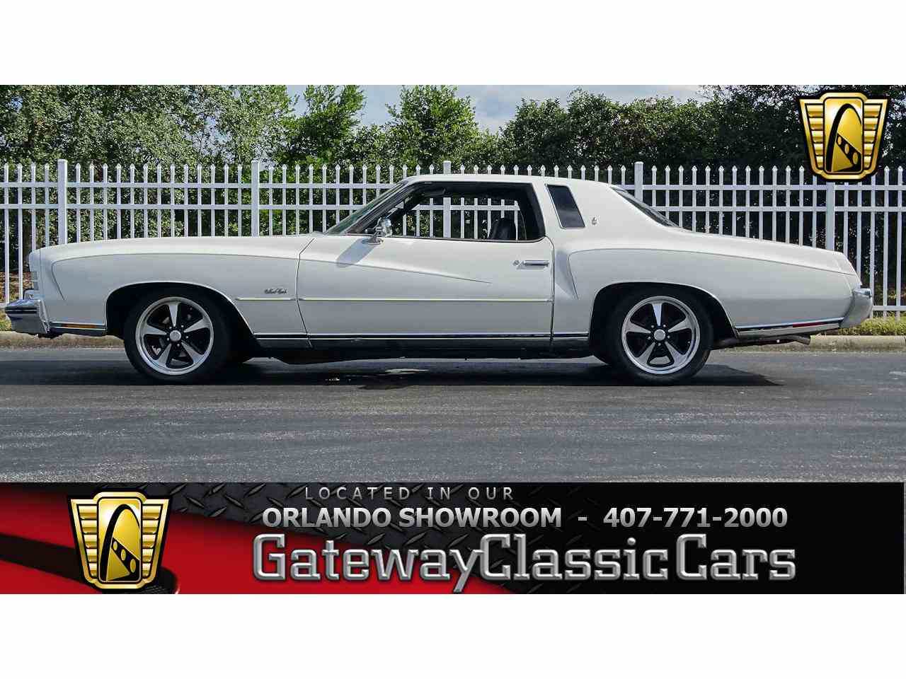 Large Picture of '73 Monte Carlo Offered by Gateway Classic Cars - Orlando - ME5G