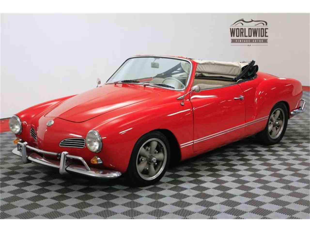 1965 volkswagen karmann ghia for sale cc 1044819. Black Bedroom Furniture Sets. Home Design Ideas