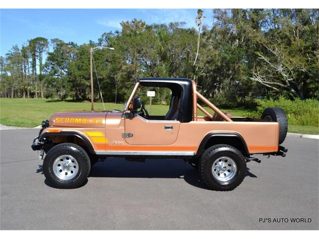 1984 jeep cj8 scrambler for sale cc 1044828. Black Bedroom Furniture Sets. Home Design Ideas