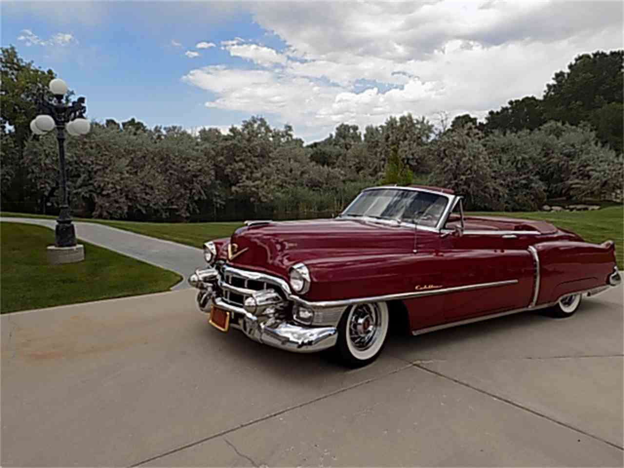 1953 cadillac convertible for sale cc 1045013. Black Bedroom Furniture Sets. Home Design Ideas