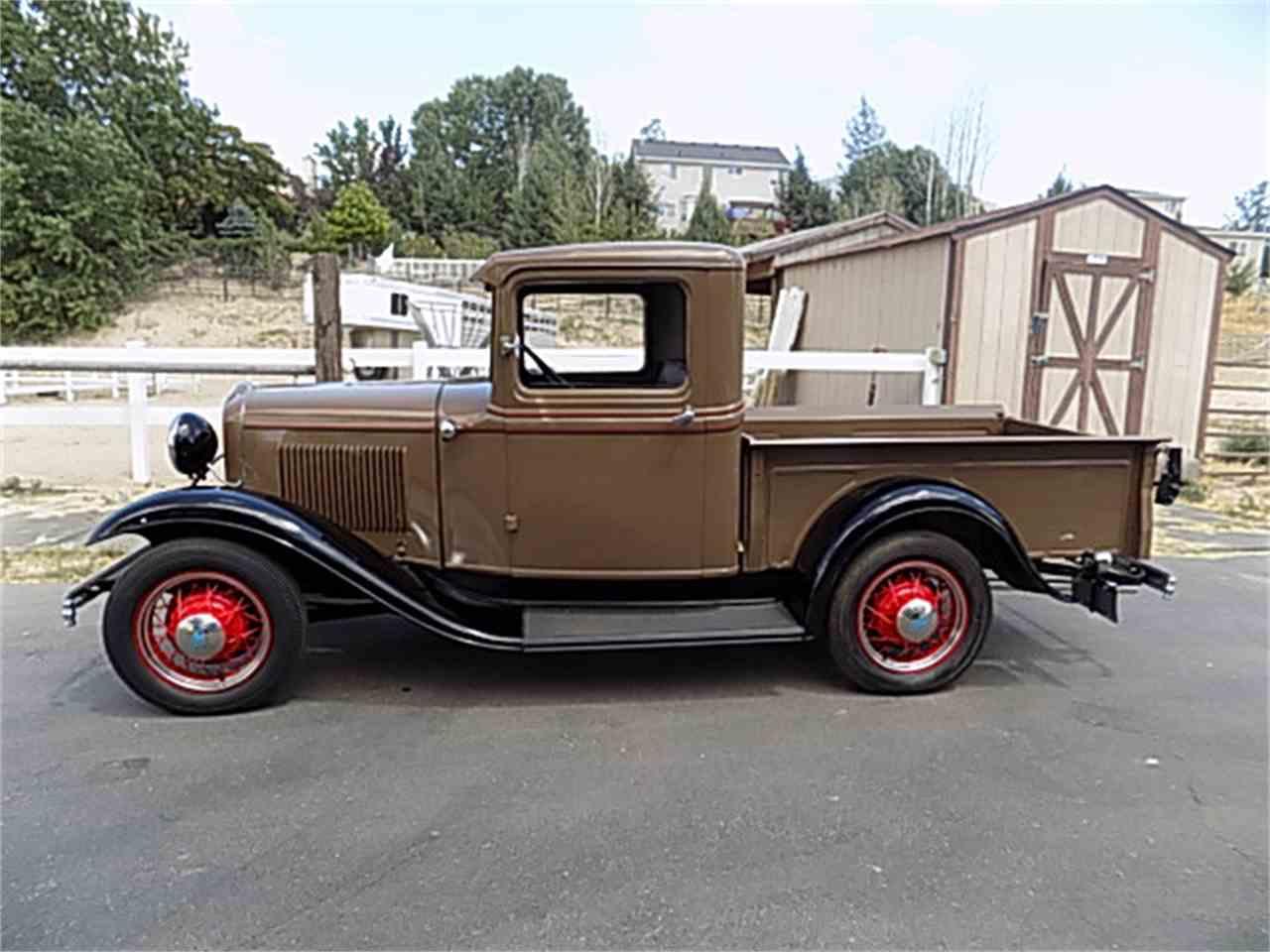 1932 ford pickup for sale cc 1045065. Black Bedroom Furniture Sets. Home Design Ideas