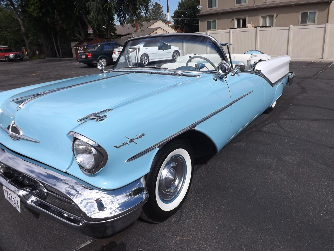 Large Picture of Classic 1957 98 located in Midvale Utah Offered by Ardell Brown Classic Cars - MEG3