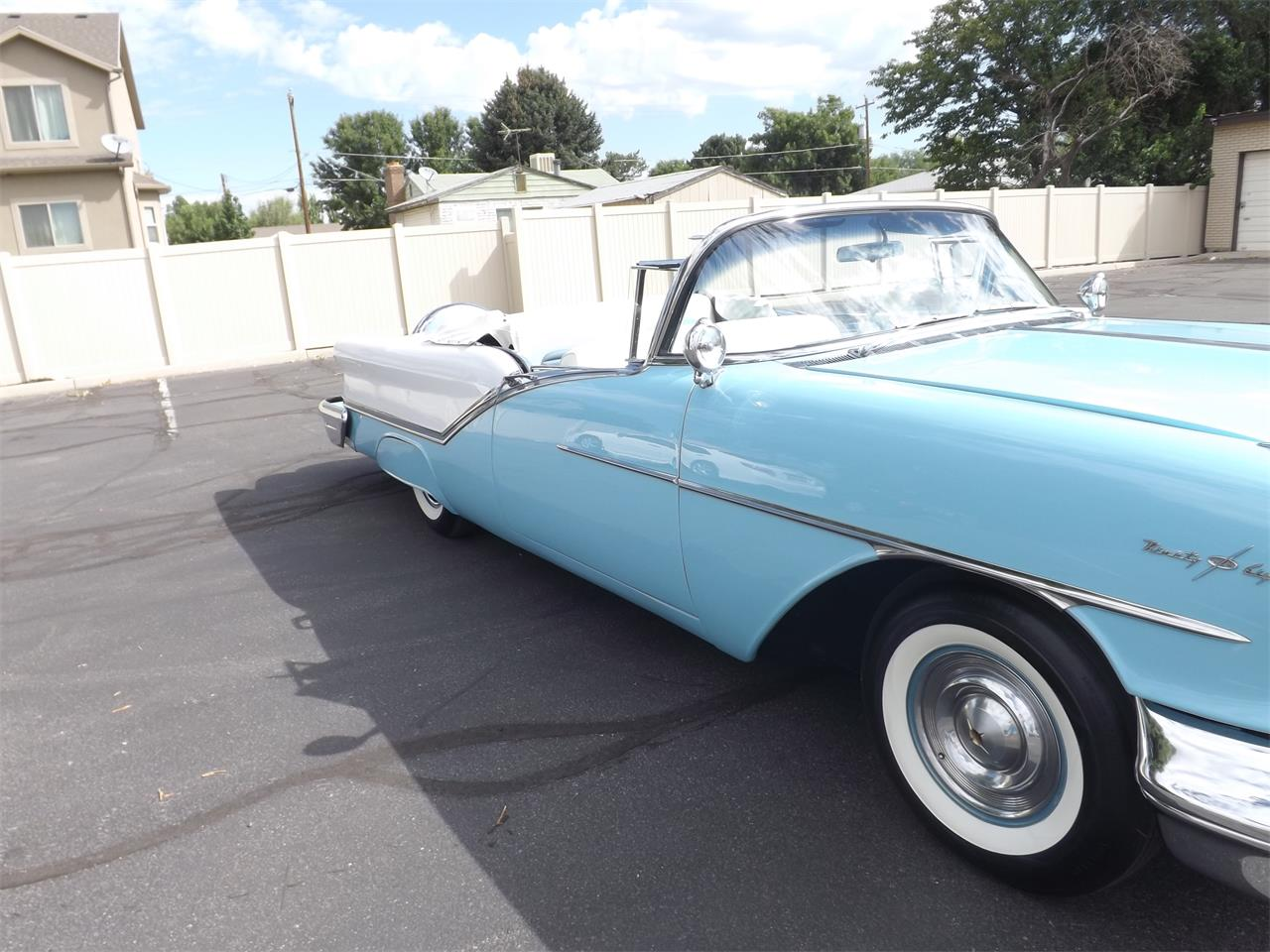 Large Picture of Classic '57 Oldsmobile 98 located in Midvale Utah Offered by Ardell Brown Classic Cars - MEG3