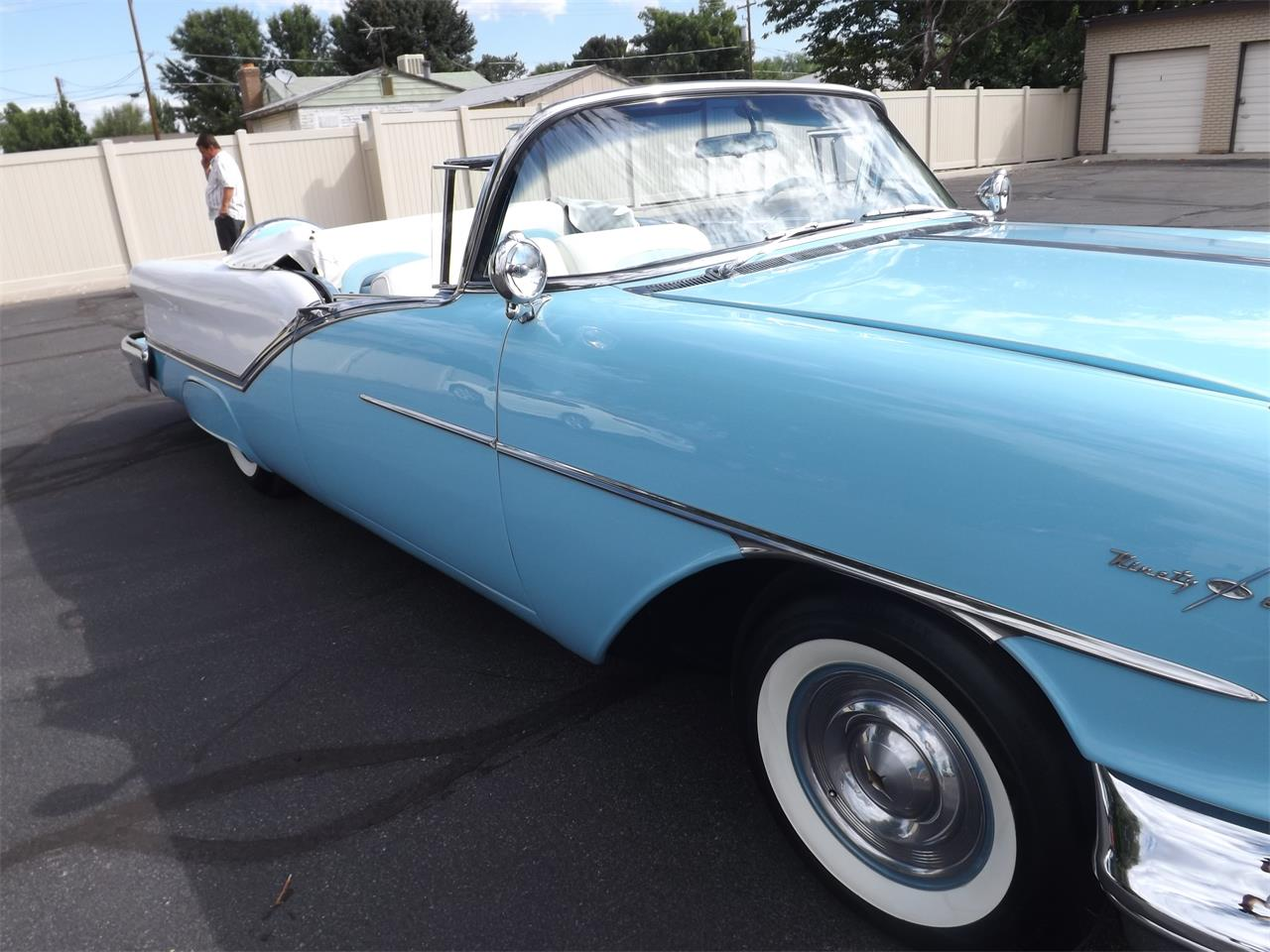 Large Picture of 1957 Oldsmobile 98 located in Midvale Utah Offered by Ardell Brown Classic Cars - MEG3