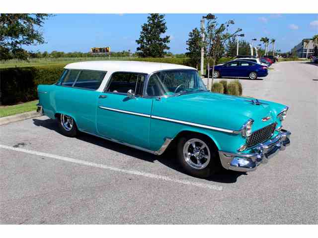 Picture of Classic '55 Chevrolet Nomad located in Sarasota Florida - $53,900.00 - MEHP