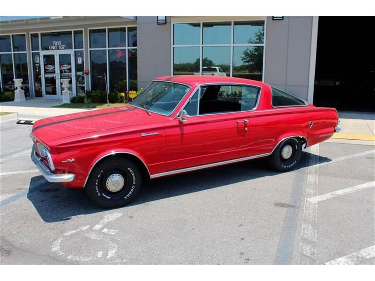 Large Picture of Classic '65 Barracuda located in Florida - $13,500.00 Offered by Classic Cars of Sarasota - MEHU