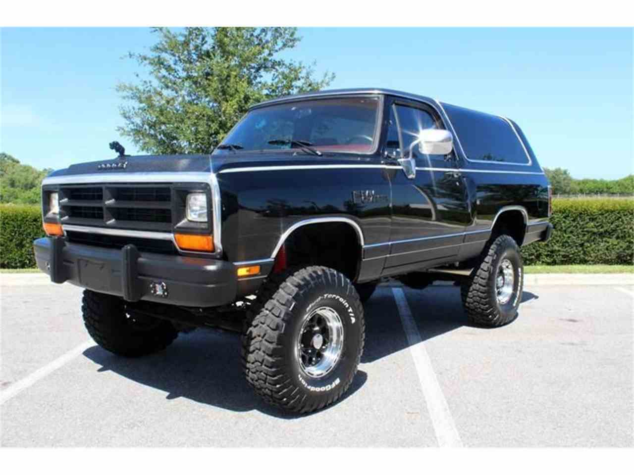 1989 Dodge Ramcharger for Sale | ClicCars.com | CC-1045238