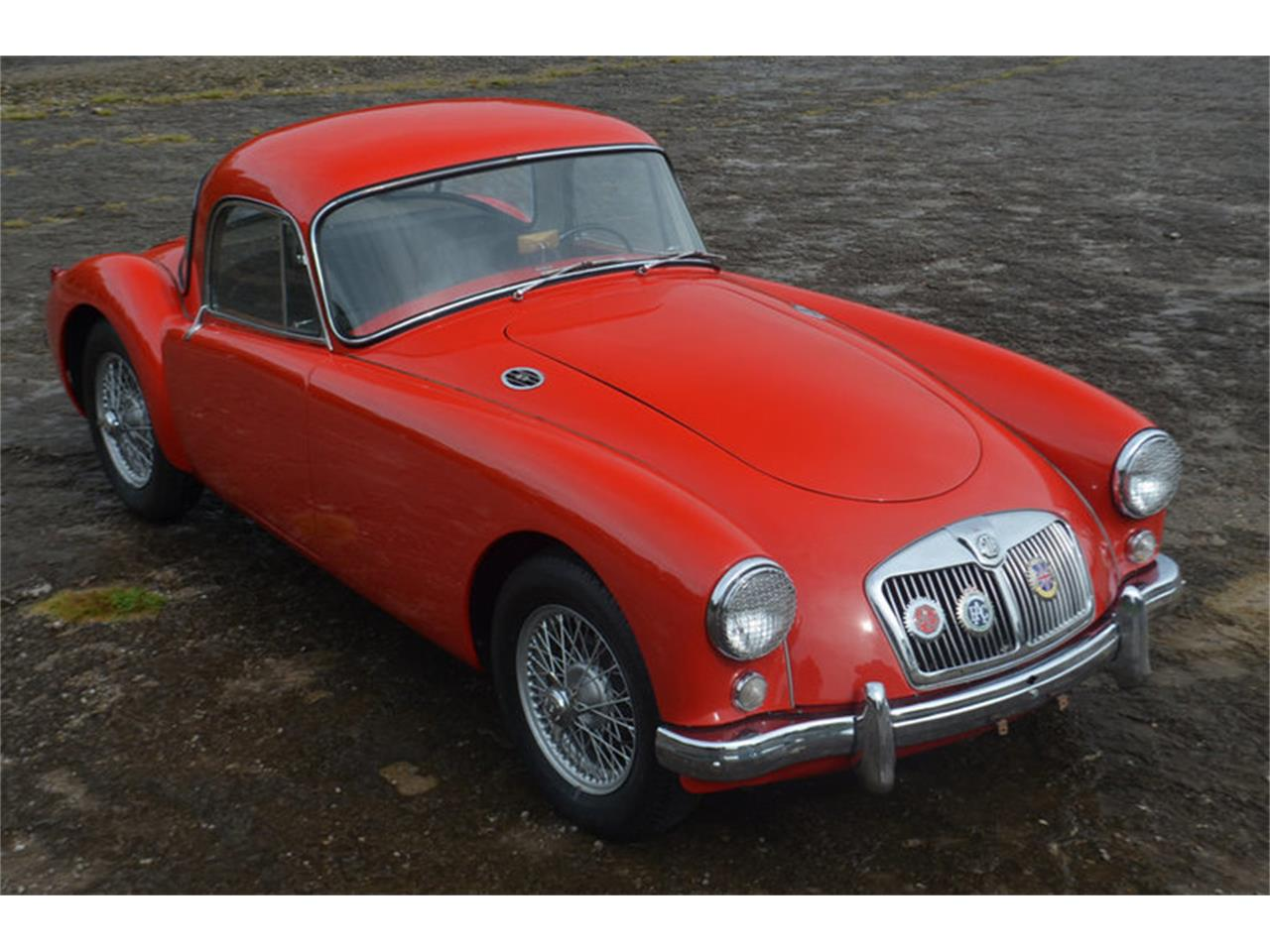 Large Picture of '57 MGA - MEJE