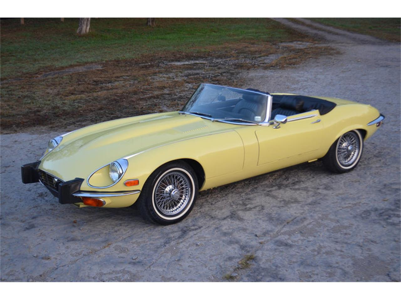 Large Picture of 1974 Jaguar XKE located in Lebanon Tennessee - $68,800.00 Offered by Frazier Motor Car Company - MEJG