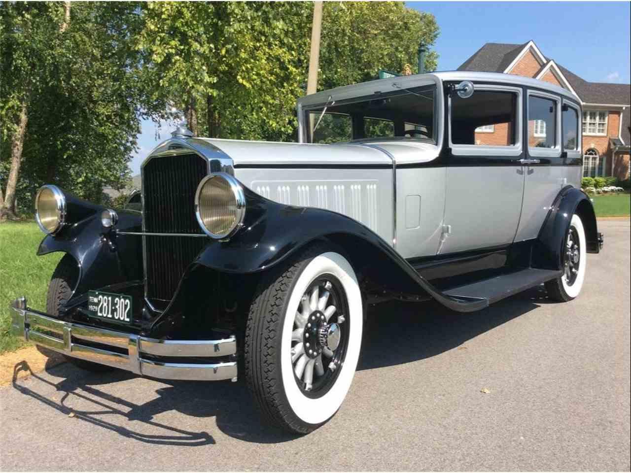1929 pierce arrow automobile for sale cc 1045305. Black Bedroom Furniture Sets. Home Design Ideas