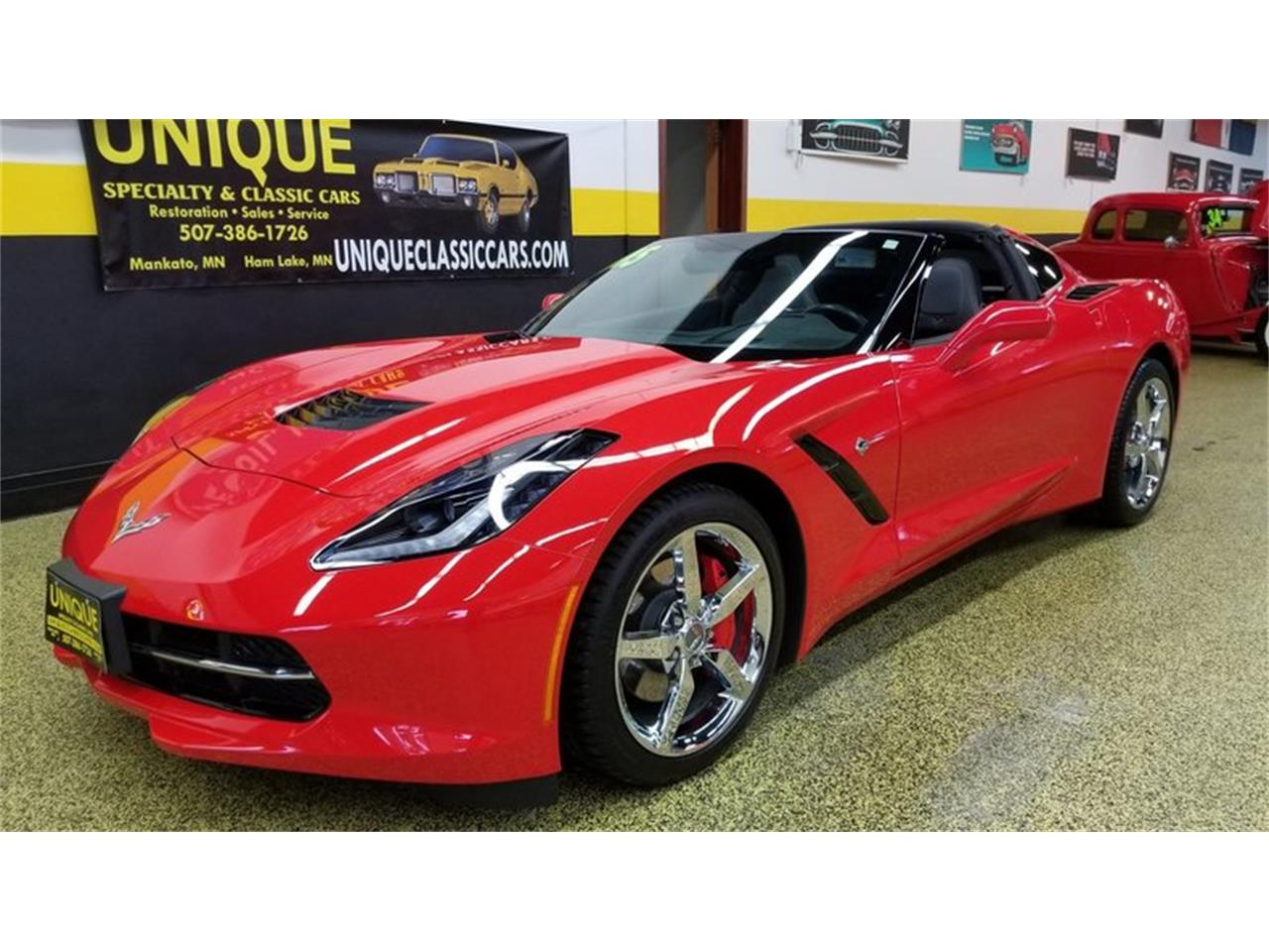Large Picture of 2015 Chevrolet Corvette Coupe 3LT located in Mankato Minnesota - MEL0