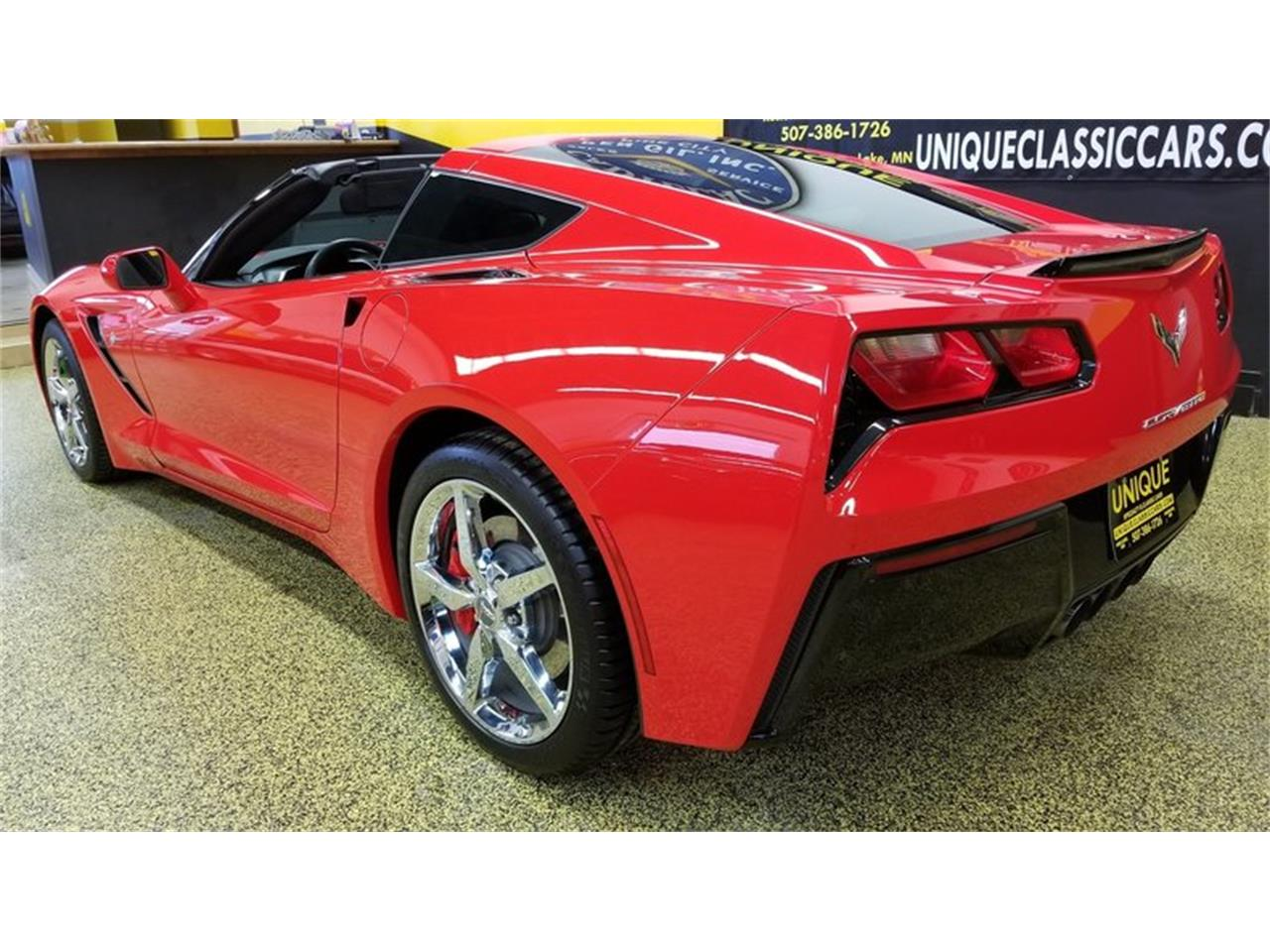 Large Picture of 2015 Corvette Coupe 3LT located in Mankato Minnesota - $48,900.00 - MEL0
