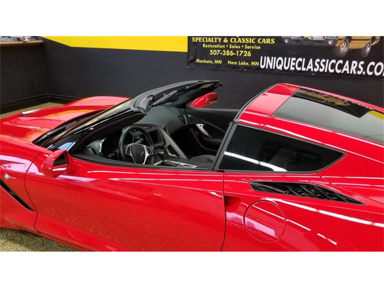 Large Picture of '15 Chevrolet Corvette Coupe 3LT - $48,900.00 Offered by Unique Specialty And Classics - MEL0