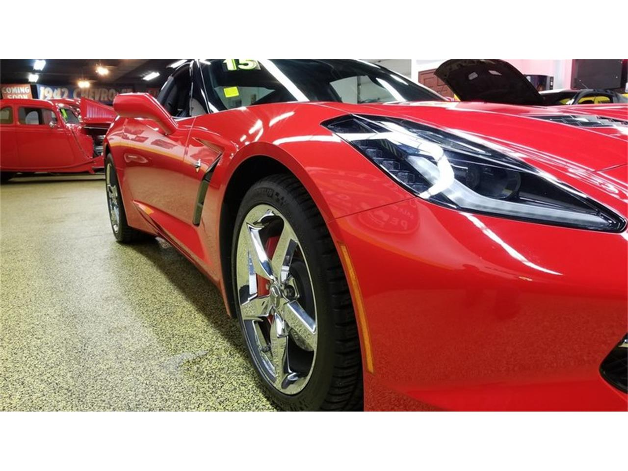 Large Picture of '15 Chevrolet Corvette Coupe 3LT Offered by Unique Specialty And Classics - MEL0