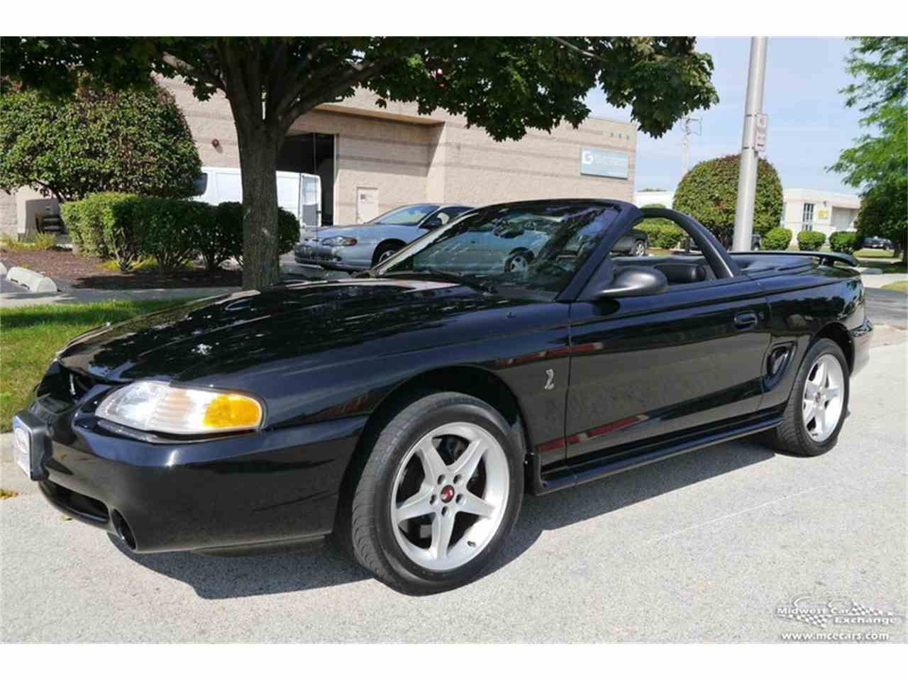Large Picture of 1997 Ford Mustang SVT Cobra located in Alsip Illinois Offered by Midwest Car Exchange - MELK