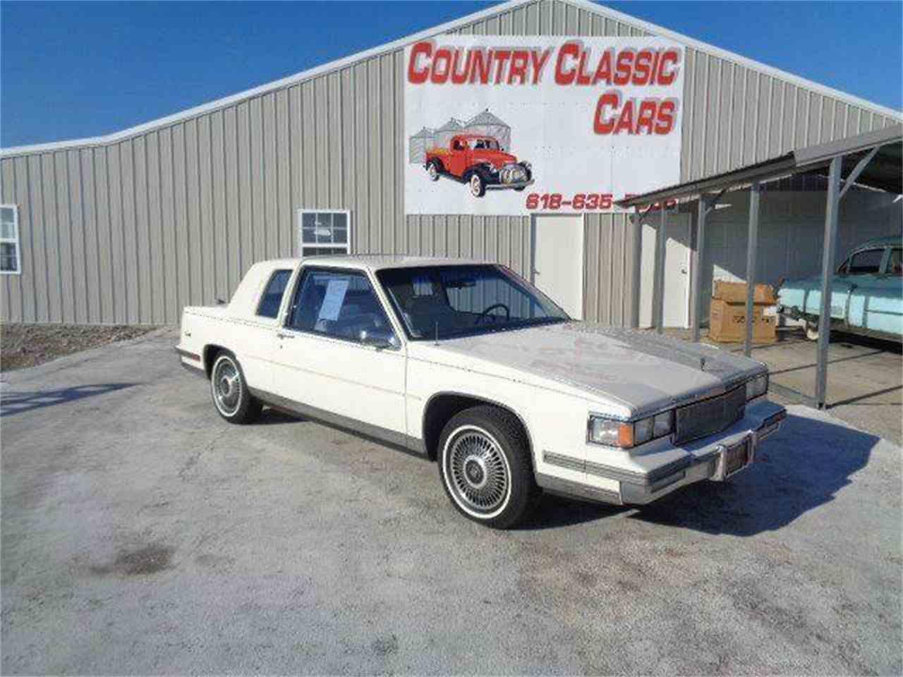 1986 Cadillac DeVille for Sale | ClicCars.com | CC-1045450