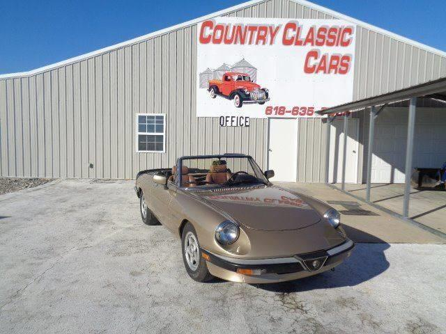 Picture of '86 Alfa Romeo Spider located in Staunton Illinois Offered by  - MEOX