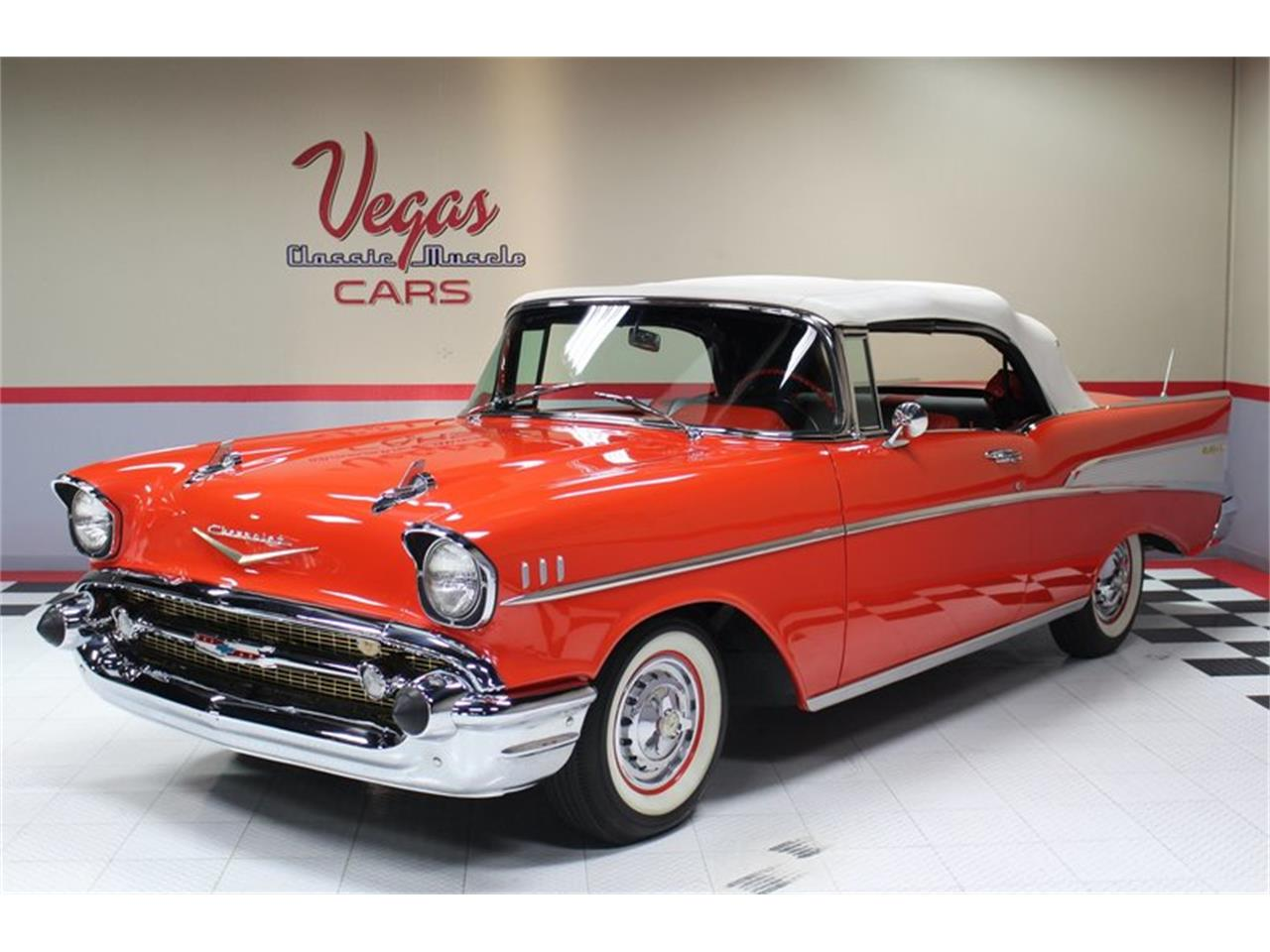 Large Picture of 1957 Chevrolet Bel Air - $74,995.00 Offered by Vegas Classic Muscle Cars - MER1