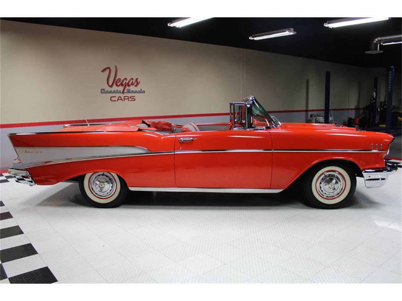 Large Picture of Classic '57 Bel Air located in Nevada - $74,995.00 Offered by Vegas Classic Muscle Cars - MER1
