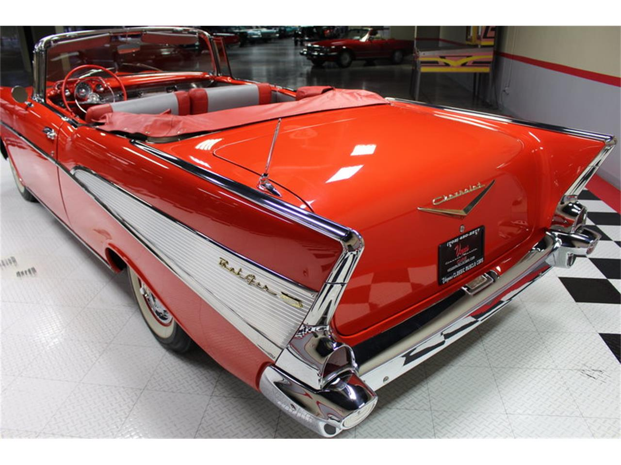 Large Picture of Classic '57 Chevrolet Bel Air located in Nevada Offered by Vegas Classic Muscle Cars - MER1