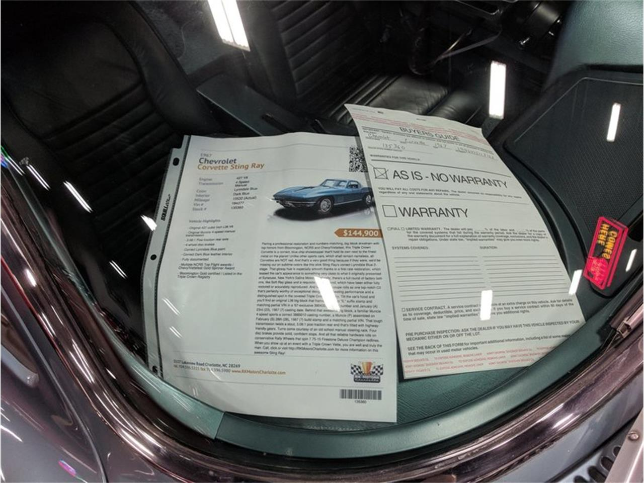 Large Picture of '67 Corvette located in North Carolina - $129,900.00 - MESF