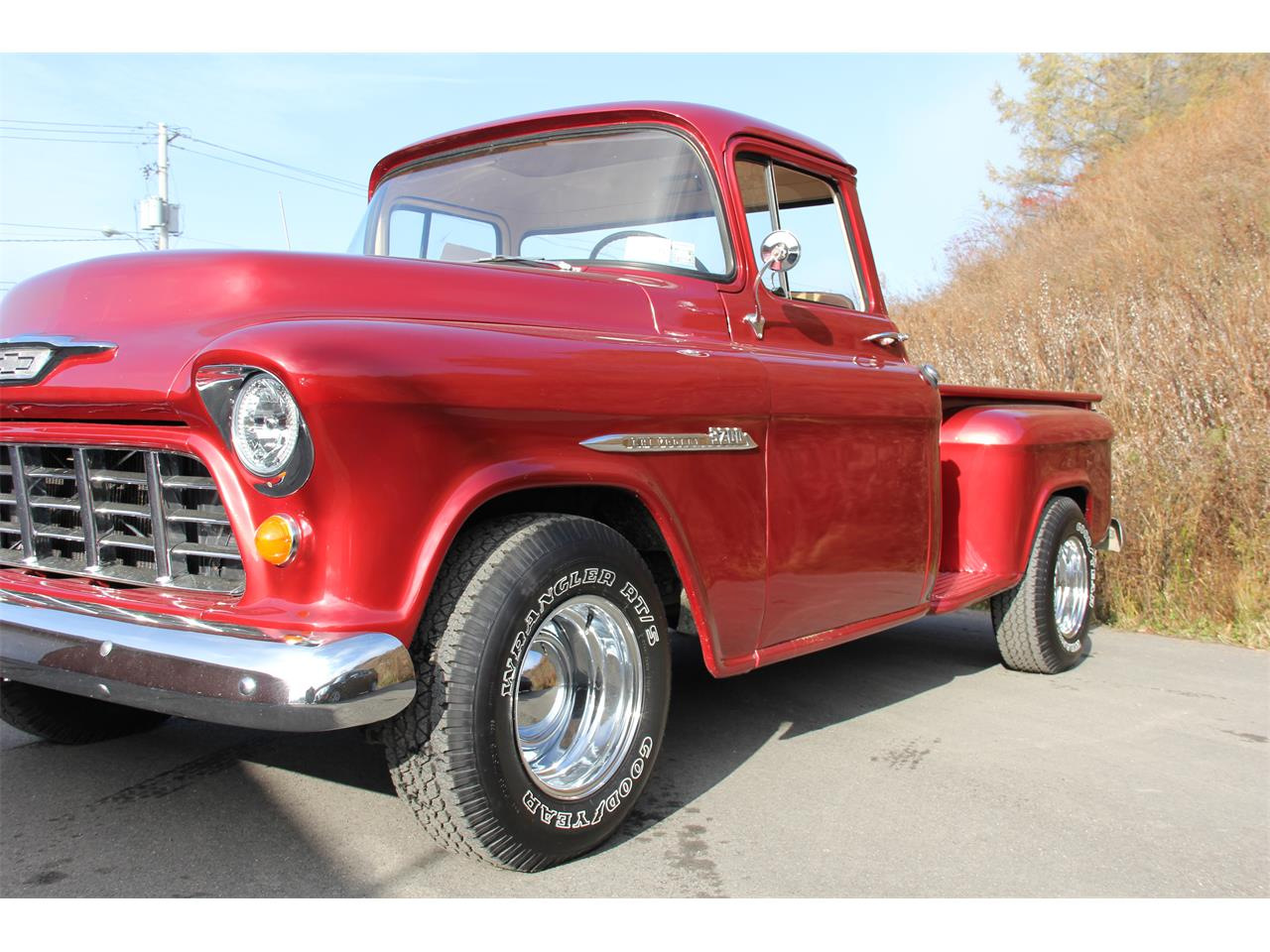 Large Picture of Classic 1955 Pickup located in North Norwich New York - $32,500.00 - MET7