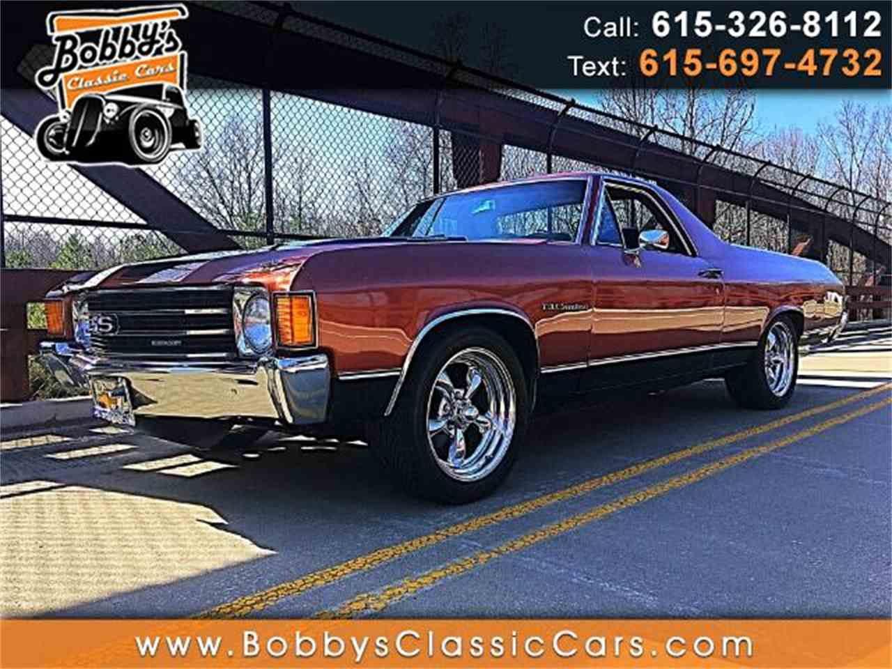Large Picture of '72 El Camino - MEUG