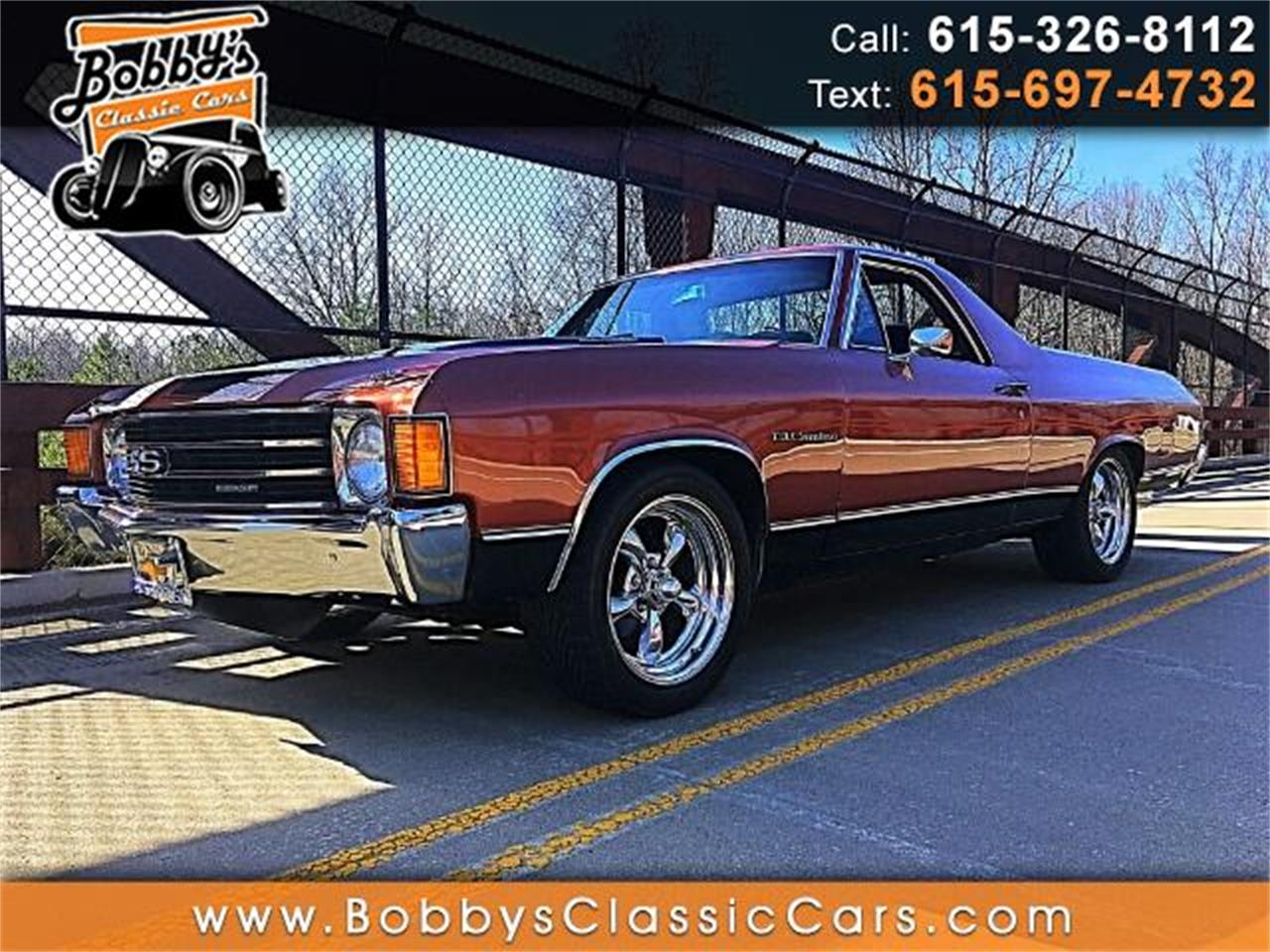 Large Picture of '72 Chevrolet El Camino located in Tennessee Offered by Bobby's Car Care - MEUG