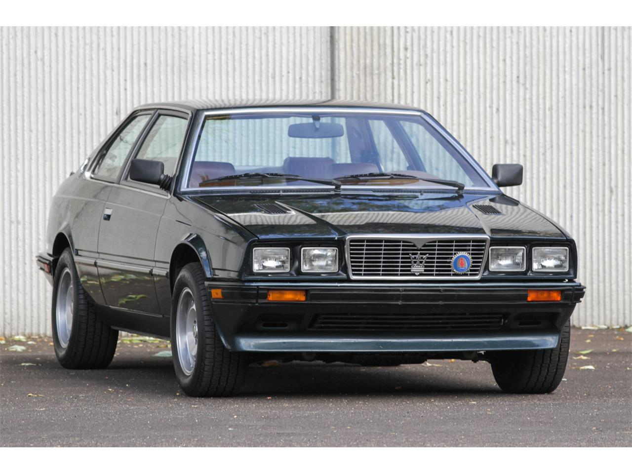 Large Picture of 1984 Biturbo located in Boise Idaho Offered by Modern Classics LLC - MAX4