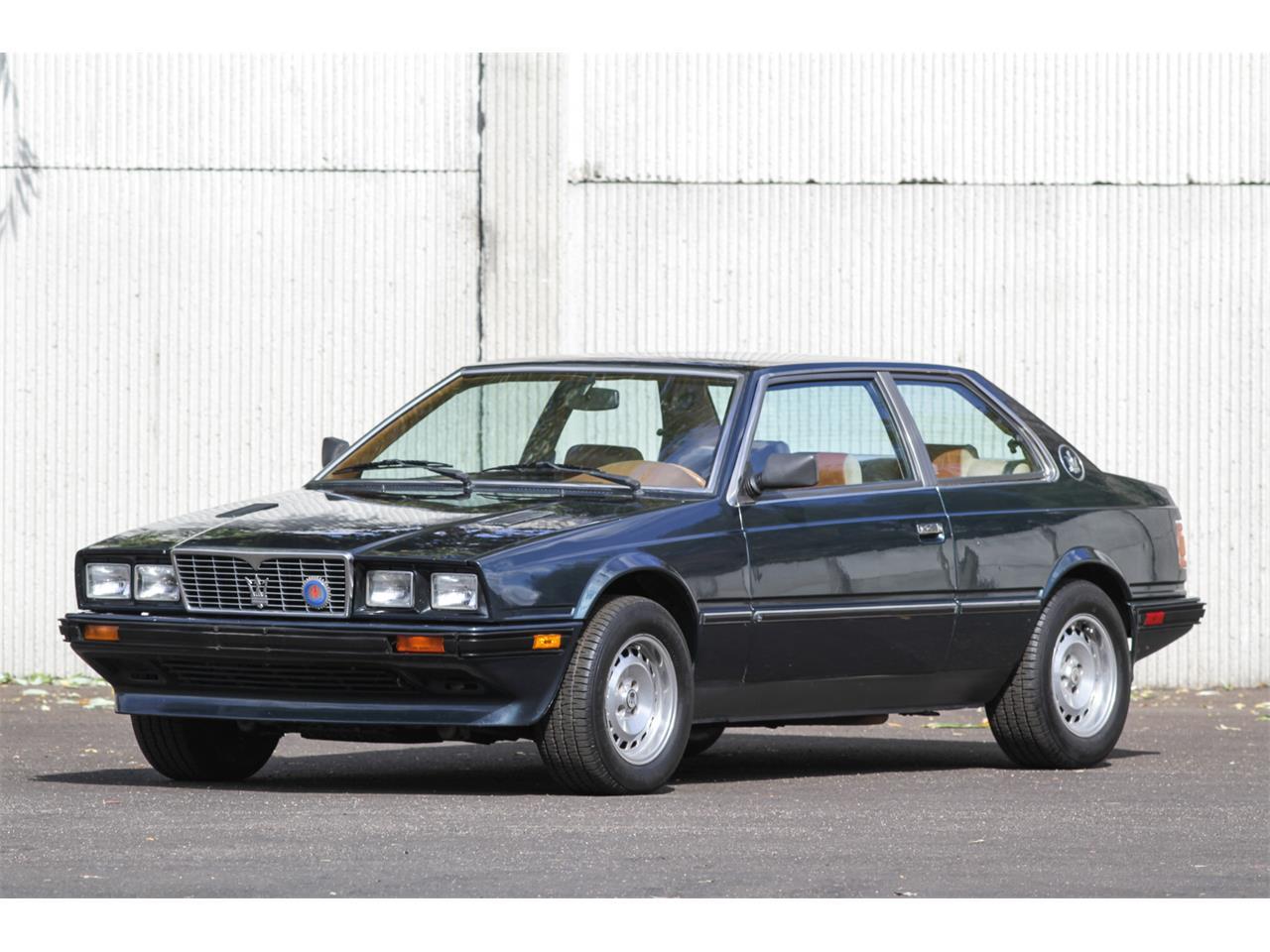 Large Picture of '84 Maserati Biturbo - MAX4