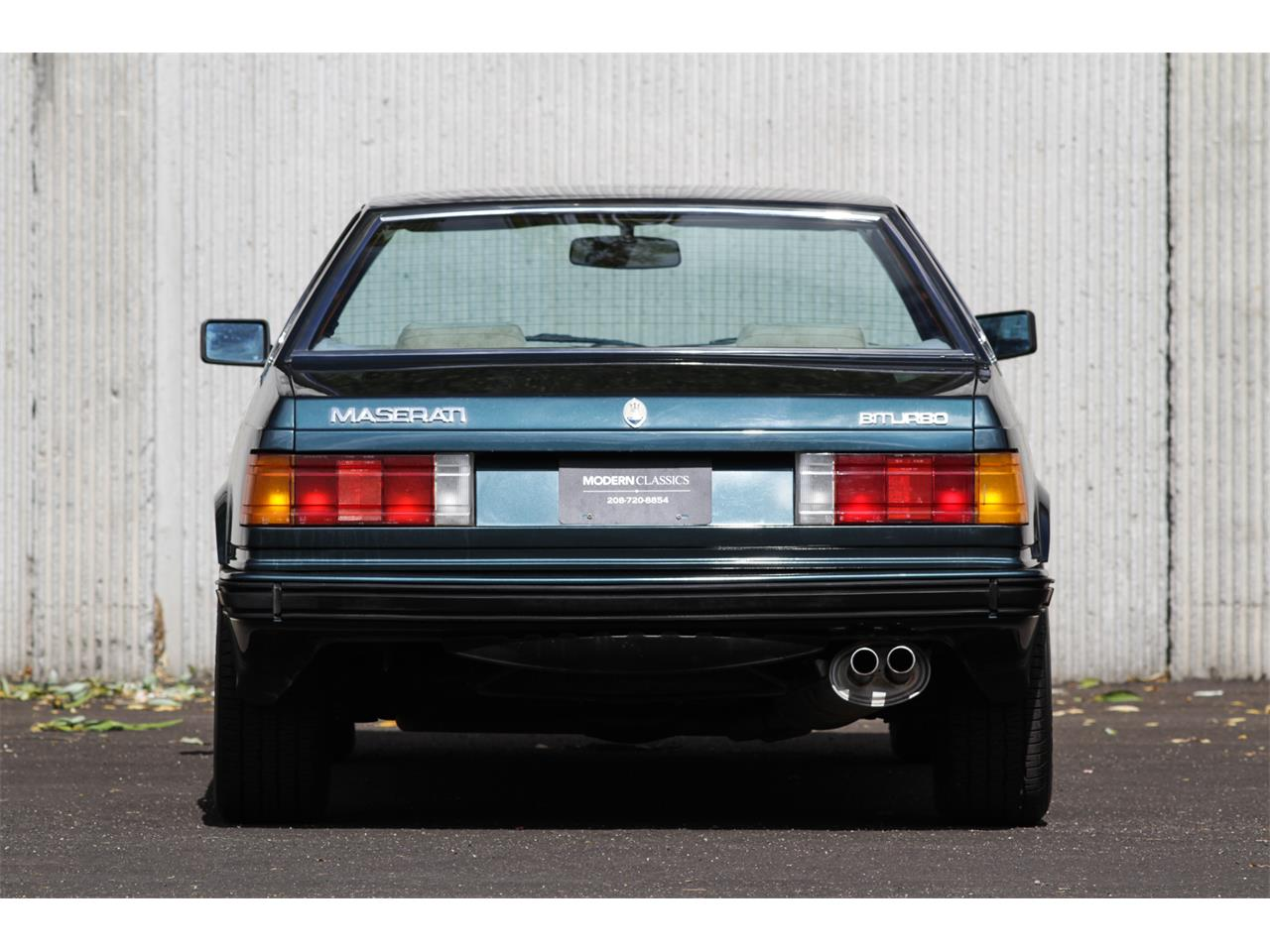 Large Picture of 1984 Maserati Biturbo Offered by Modern Classics LLC - MAX4