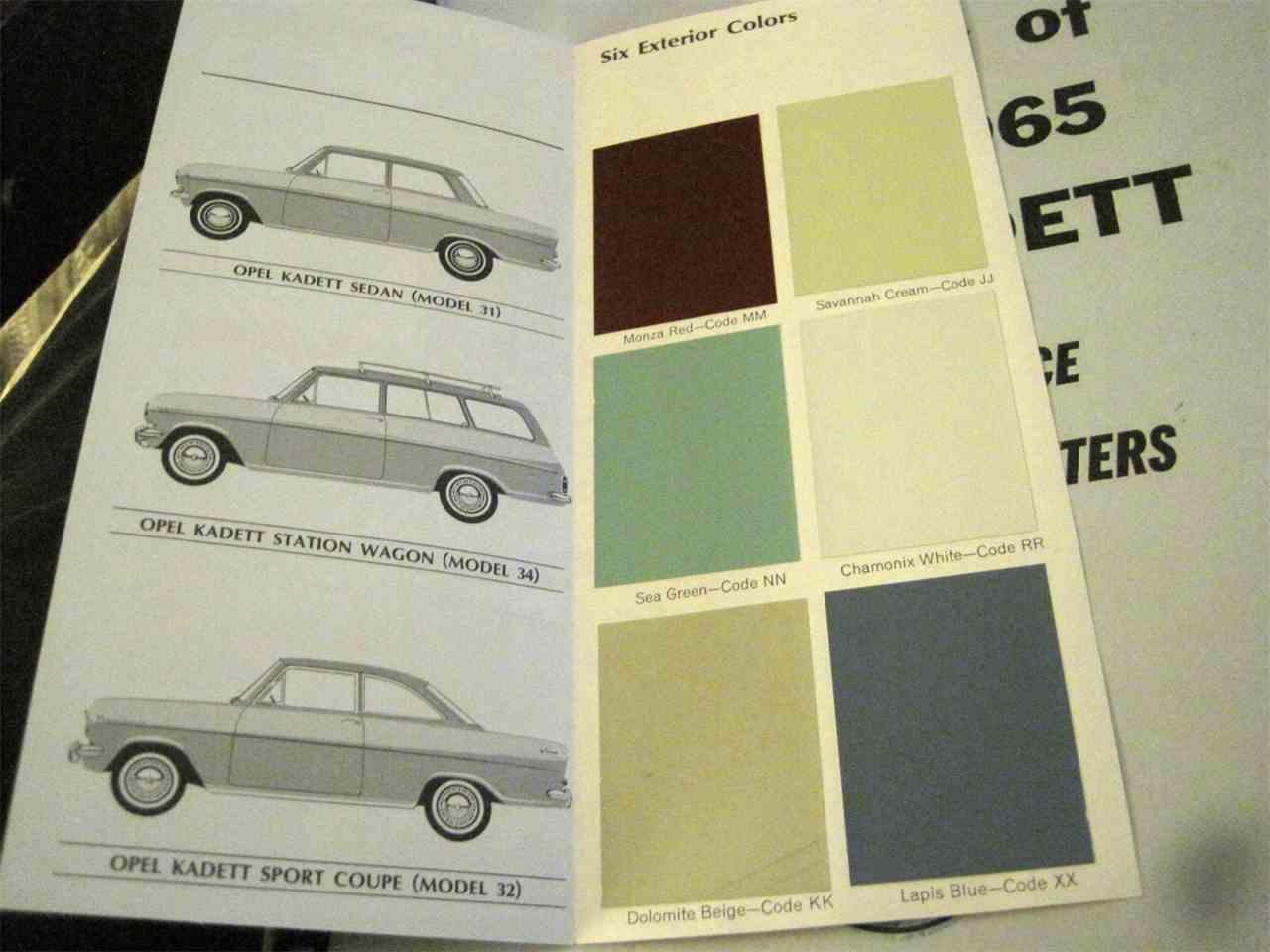 1965 opel kadett a for sale classiccars cc 1040059 large picture of classic 1965 opel kadett a maij sciox Choice Image