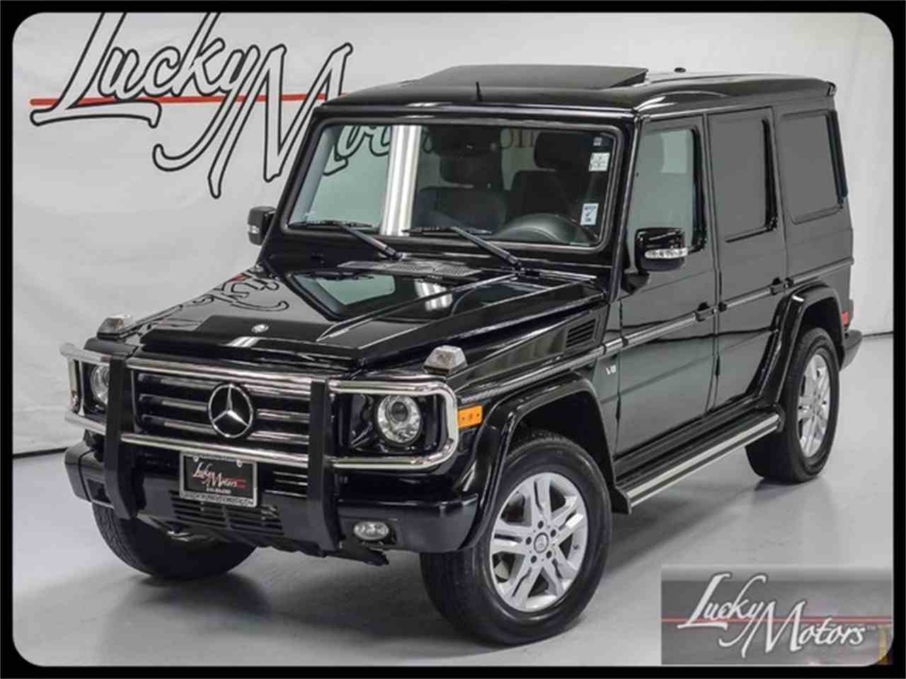 Large Picture of '12 G-Class - MF2E