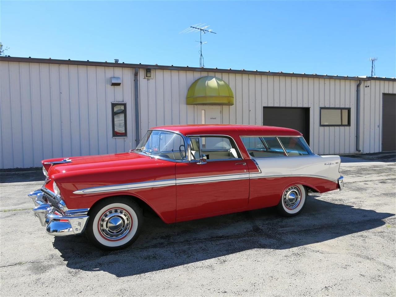 Large Picture of Classic '56 Nomad located in Manitowoc Wisconsin - $49,900.00 - MAXL