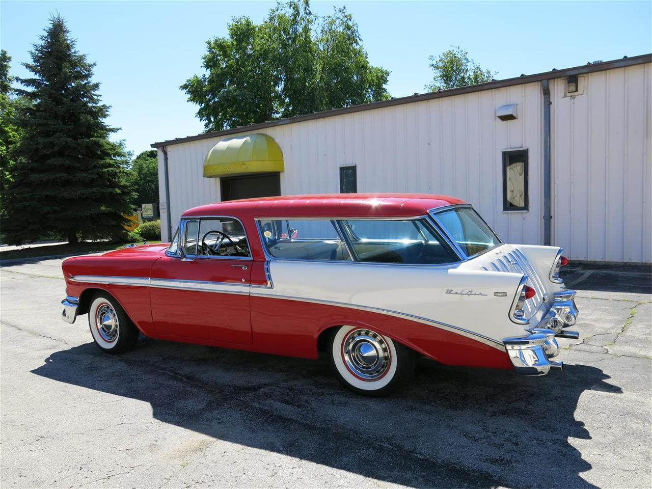 Large Picture of Classic '56 Chevrolet Nomad located in Wisconsin - $49,900.00 - MAXL