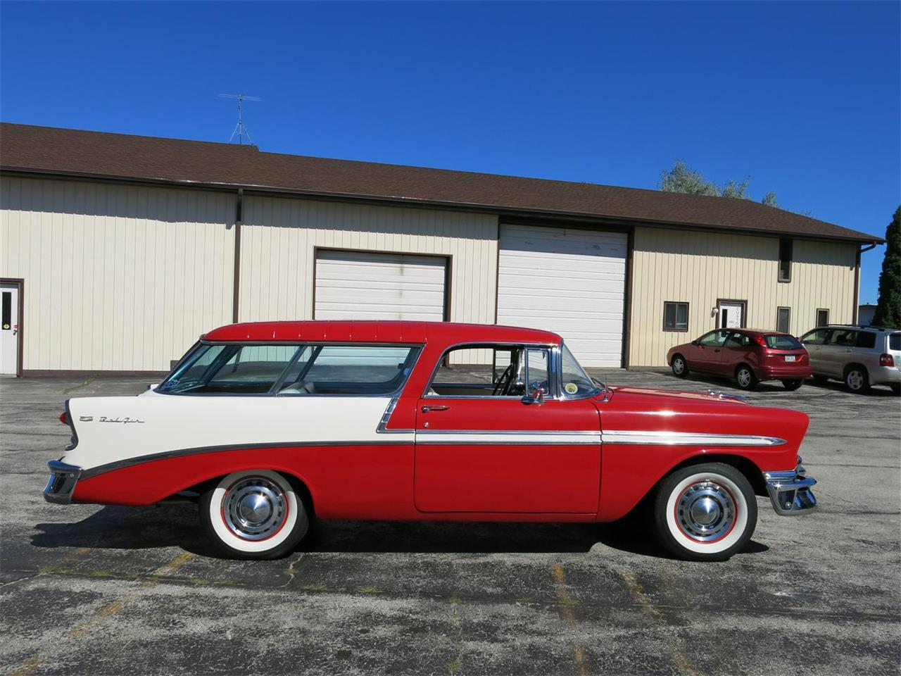 Large Picture of Classic 1956 Chevrolet Nomad located in Manitowoc Wisconsin - MAXL