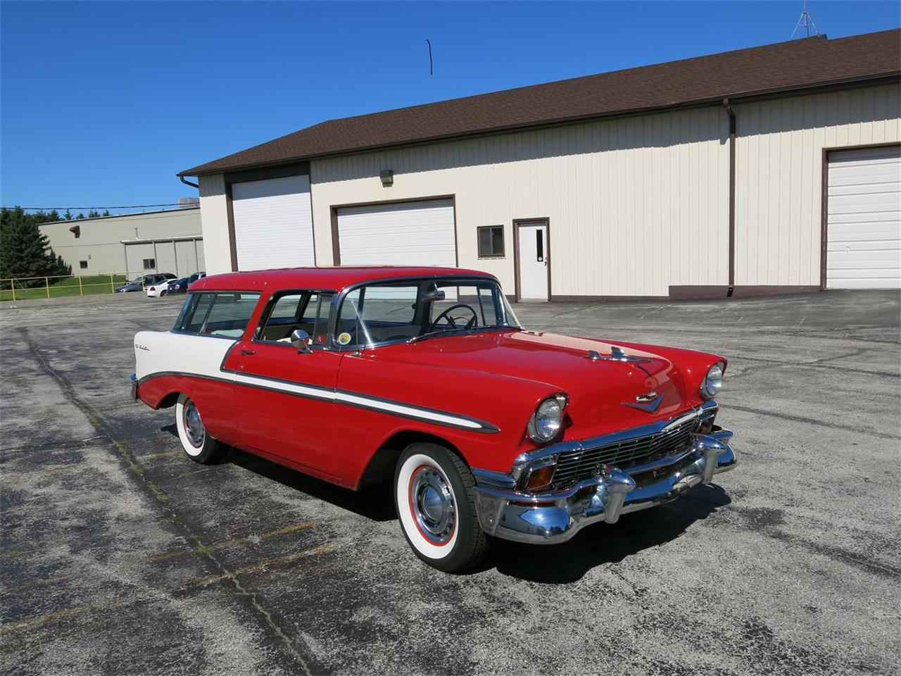 Large Picture of Classic '56 Nomad located in Manitowoc Wisconsin Offered by Diversion Motors - MAXL
