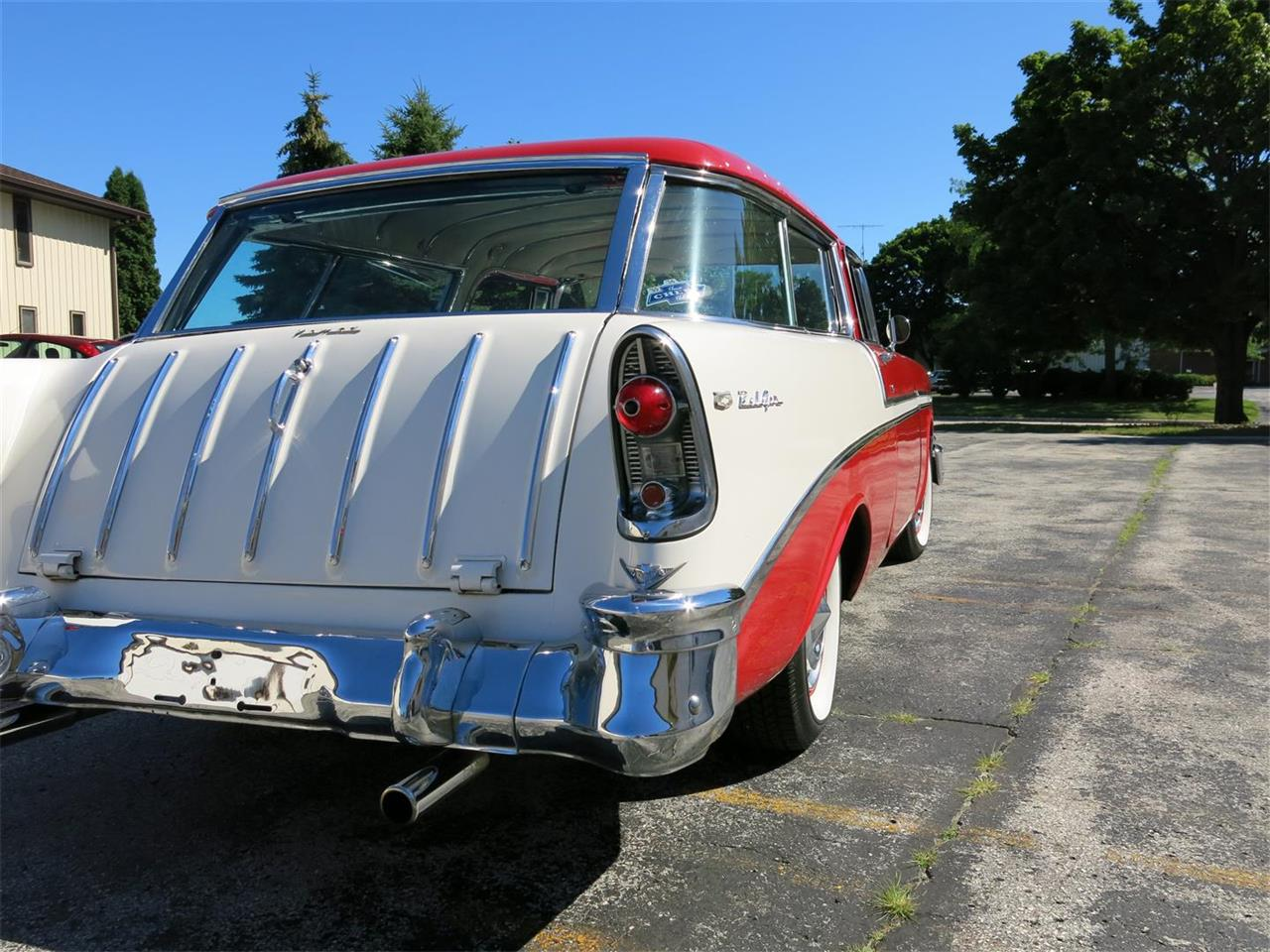 Large Picture of Classic '56 Nomad located in Wisconsin Offered by Diversion Motors - MAXL