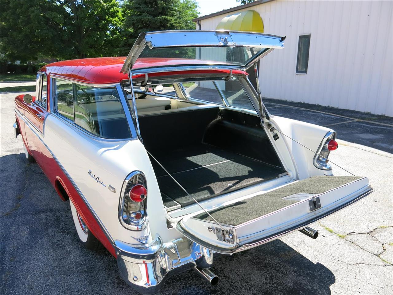 Large Picture of Classic '56 Chevrolet Nomad located in Manitowoc Wisconsin - $49,900.00 Offered by Diversion Motors - MAXL