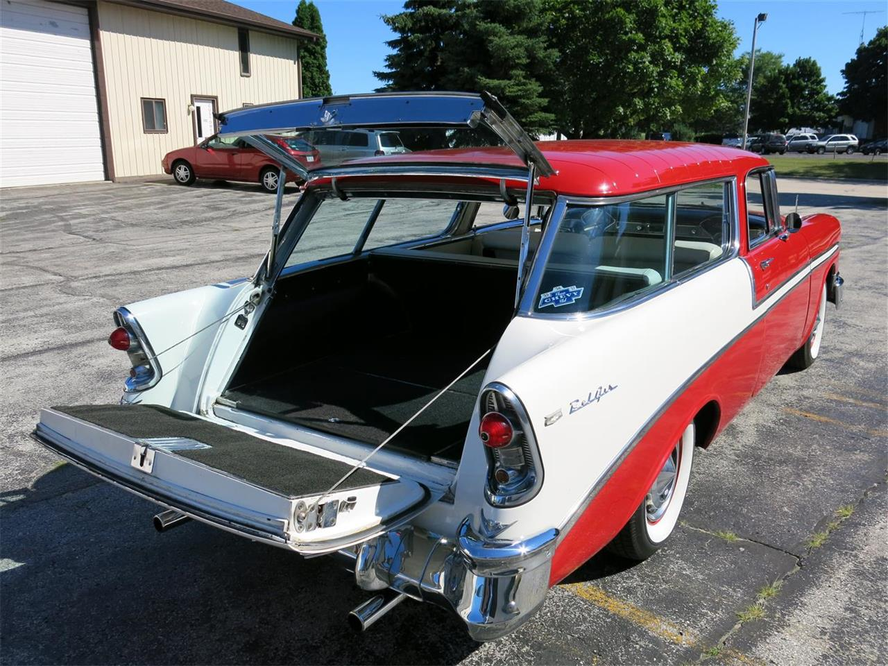 Large Picture of 1956 Chevrolet Nomad located in Manitowoc Wisconsin - $49,900.00 Offered by Diversion Motors - MAXL