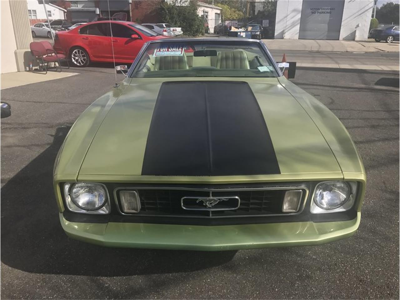 Large Picture of '73 Ford Mustang located in West Babylon New York - $12,900.00 Offered by Hollywood Motors - MF56