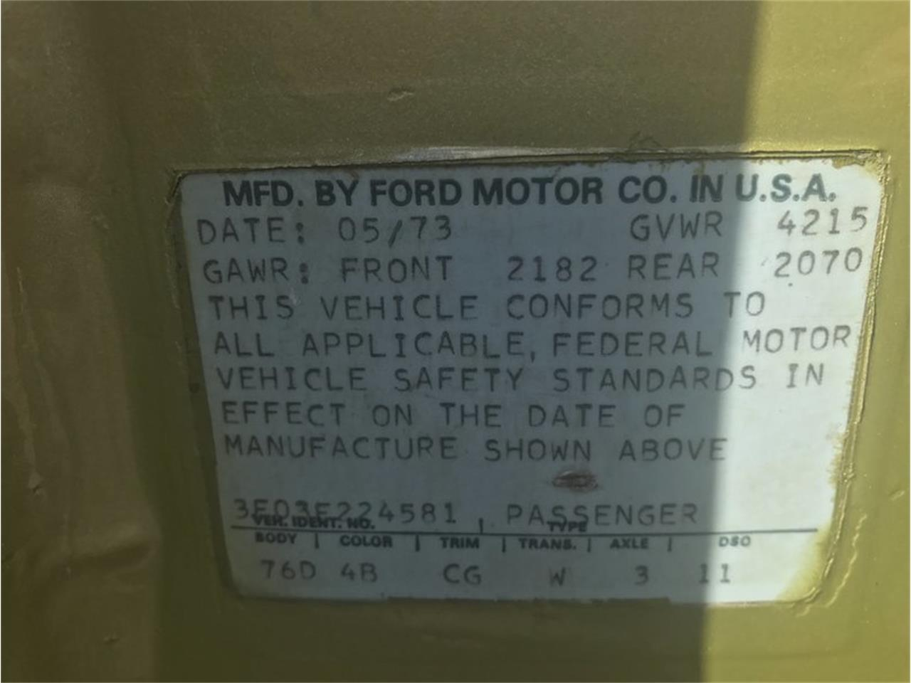 Large Picture of 1973 Ford Mustang located in New York Offered by Hollywood Motors - MF56
