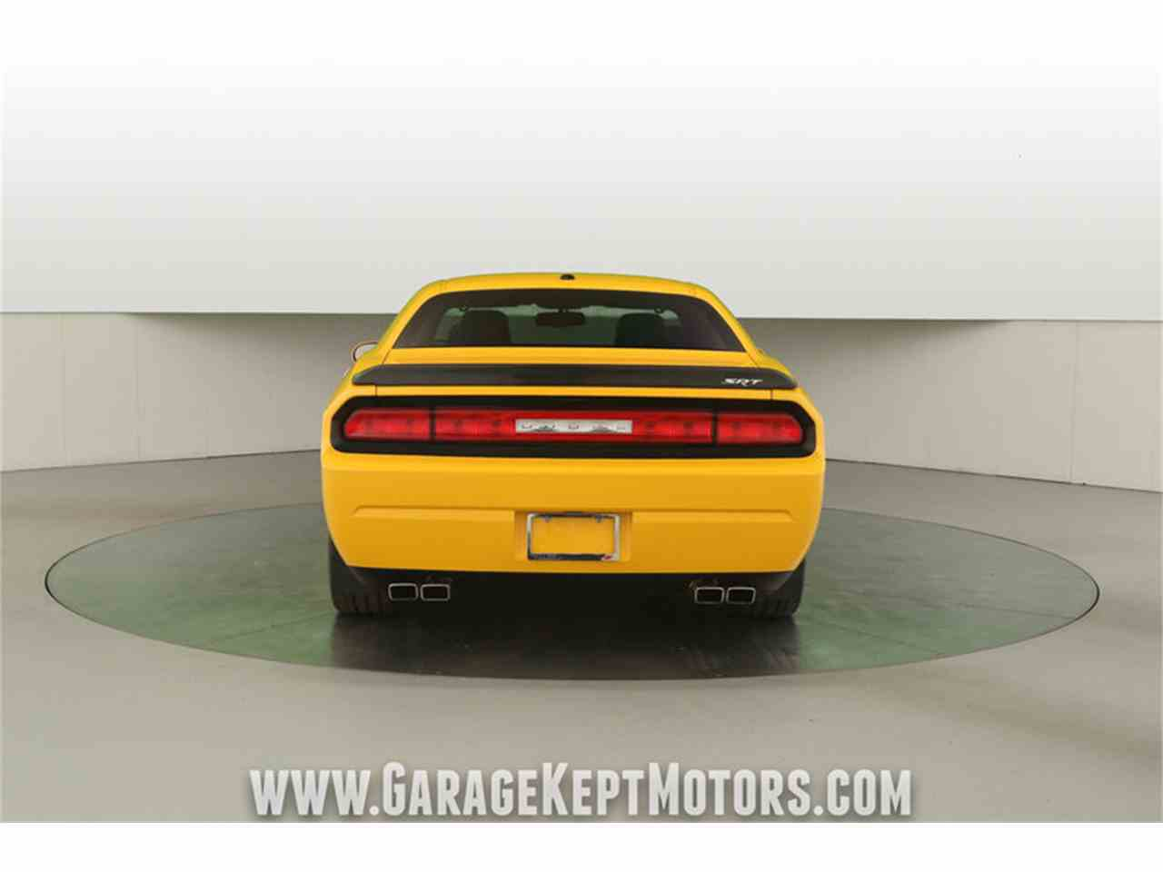 Large Picture of '12 Dodge Challenger SRT8 392 Yellow Jacket located in Michigan - MAXR