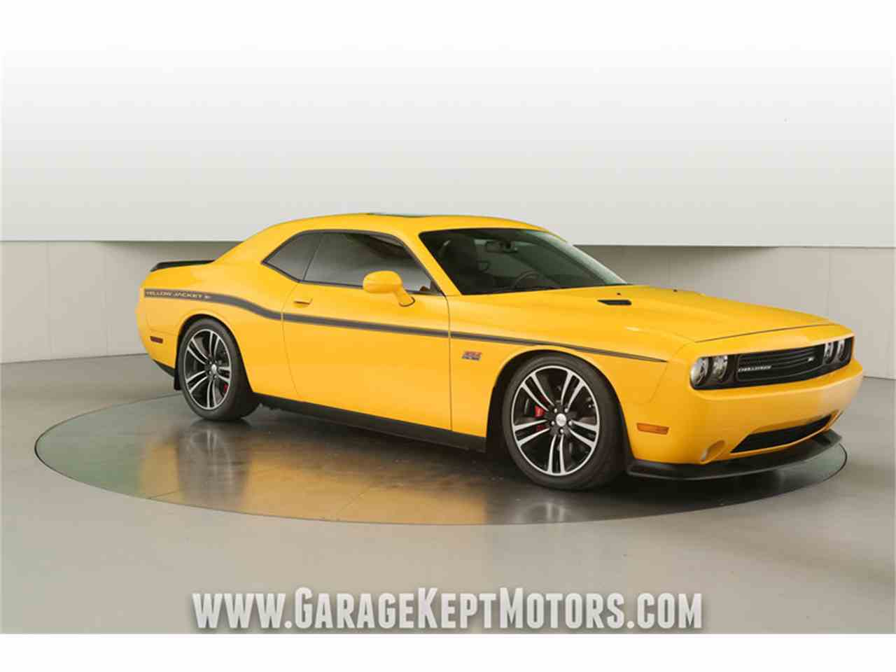 Large Picture of '12 Challenger SRT8 392 Yellow Jacket located in Grand Rapids Michigan Offered by Garage Kept Motors - MAXR