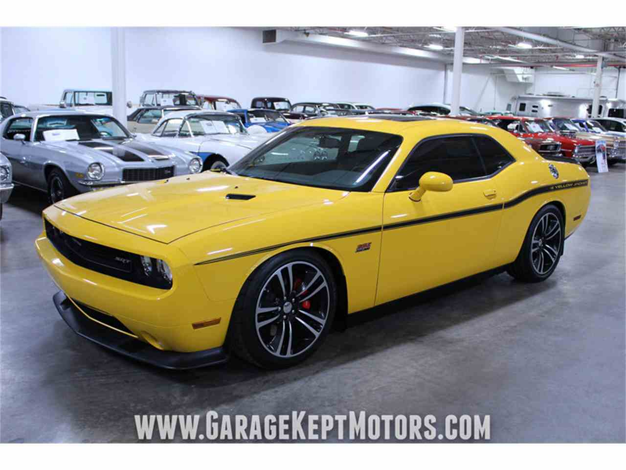 2012 dodge challenger srt8 392 yellow jacket for sale cc 1040607. Black Bedroom Furniture Sets. Home Design Ideas