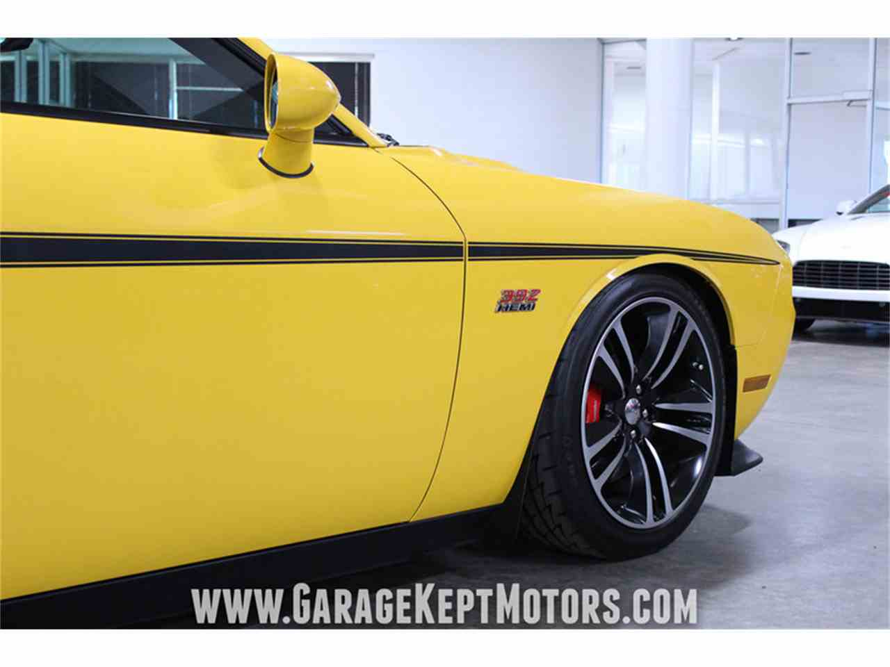 Large Picture of '12 Dodge Challenger SRT8 392 Yellow Jacket located in Grand Rapids Michigan - MAXR
