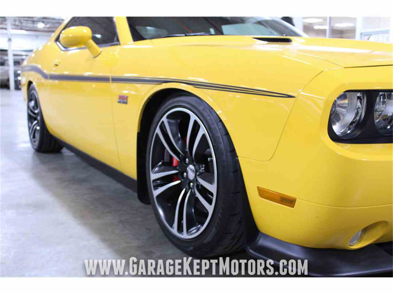 Large Picture of '12 Challenger SRT8 392 Yellow Jacket Offered by Garage Kept Motors - MAXR