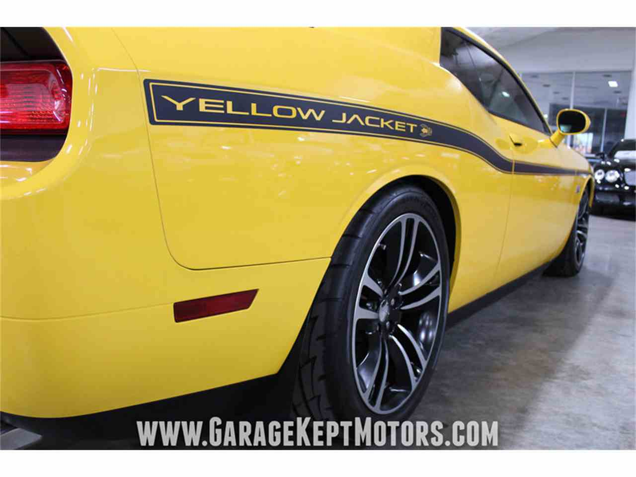 Large Picture of '12 Dodge Challenger SRT8 392 Yellow Jacket - MAXR