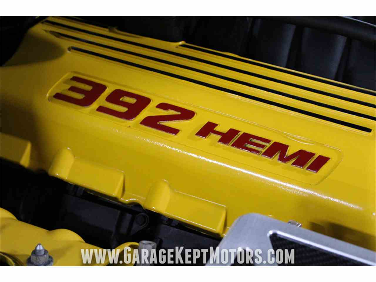 Large Picture of '12 Challenger SRT8 392 Yellow Jacket located in Michigan Offered by Garage Kept Motors - MAXR